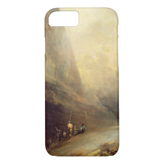 Mountain Landscape with Banditti, c.1780 (oil on c iPhone 7 Case