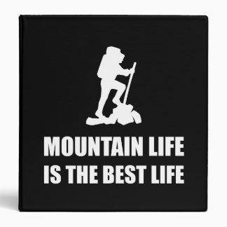 Mountain Life Best Life 3 Ring Binders
