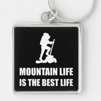 Mountain Life Best Life Keychain