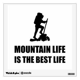 Mountain Life Best Life Wall Sticker