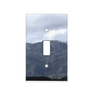 Mountain Light Switch Cover