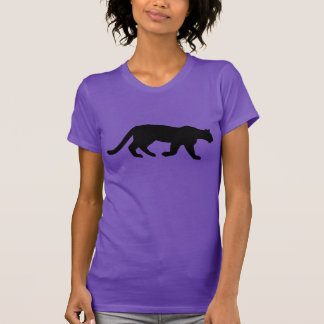 Mountain Lion Cougar Silhouette T-Shirt