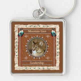 Mountain Lion  -Leadership- Keychain