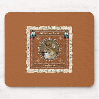 Mountain Lion  -Leadership- Mousepad