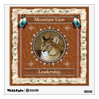 Mountain Lion  -Leadership- Wall Decal