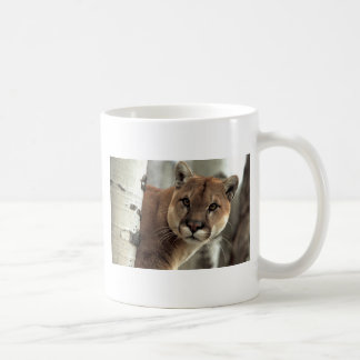 Mountain Lion Striking a Pose Coffee Mug