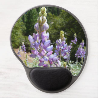 Mountain Lupins at Yosemite Gel Mouse Pad