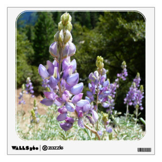Mountain Lupins at Yosemite Wall Sticker