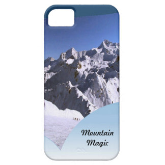 Mountain magic the French alps iPhone 5 Cover