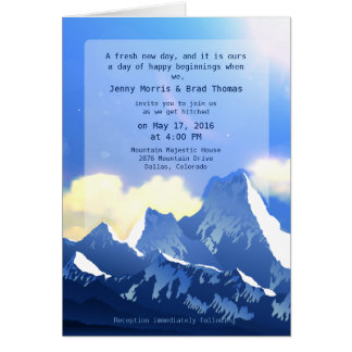 Mountain Majestic Card