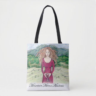 Mountain Mama Madness All over Print Tote Bag