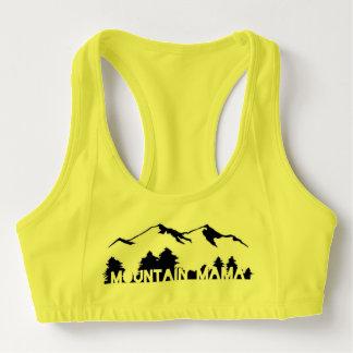 Mountain mama sports bra