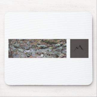 Mountain Man Stream Mouse Pad