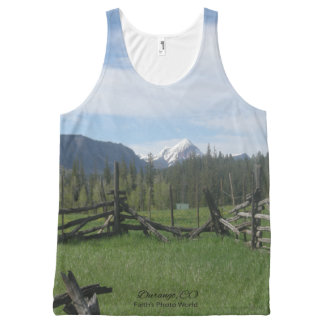Mountain Meadow All-Over-Print Tank Top