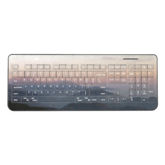 Mountain Moonrise Keyboard