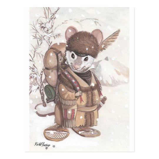 mountain mouse postcard
