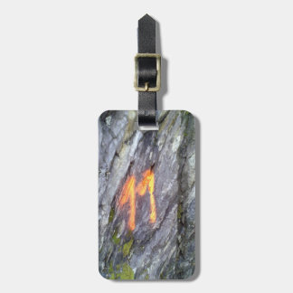 Mountain number 11 luggage tag