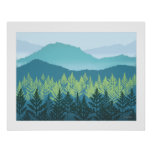 Mountain Nursery Poster