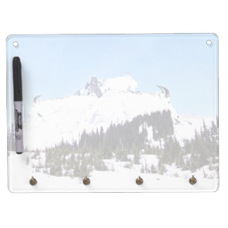 Mountain of Goats Dry Erase Board With Keychain Holder