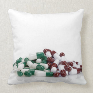 Mountain of Pills Throw Pillow