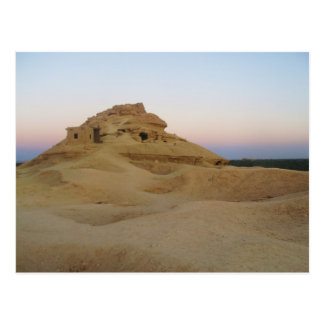 Mountain of the dead, Siwa, Egypt Postcard