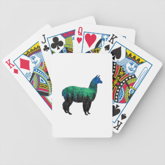 Mountain Paradise Bicycle Playing Cards