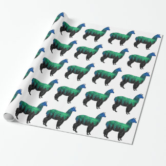 Mountain Paradise Wrapping Paper