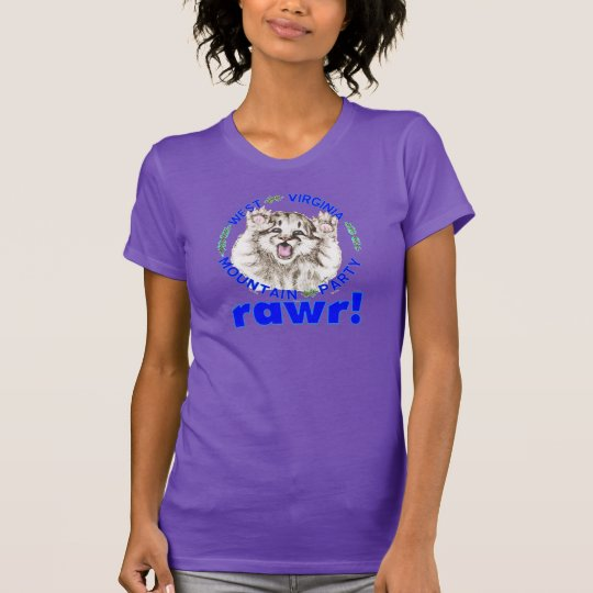 """Mountain Party Spirit Cub RAWR"" women's T-Shirt"