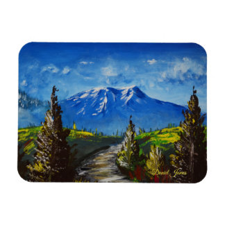 Mountain Path Magnet
