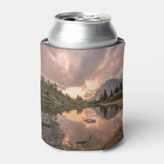 Mountain Pond custom monogram can cooler
