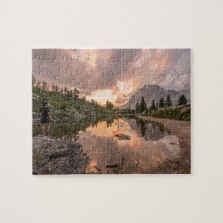 Mountain Pond photo puzzle