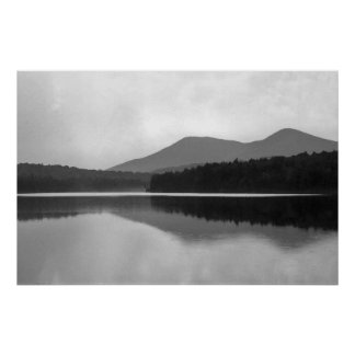 Mountain Pond Poster