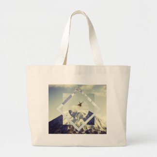Mountain Psycho Large Tote Bag