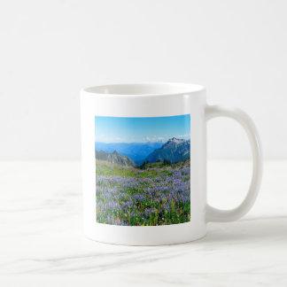Mountain Purple Heather Haze Classic White Coffee Mug