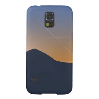 Mountain Range at Sunset Cases For Galaxy S5