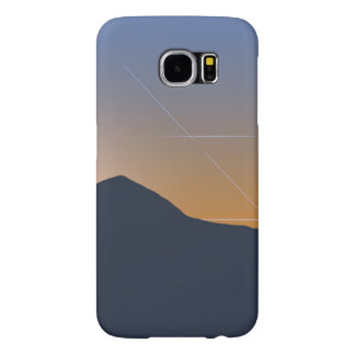 Mountain Range at Sunset Samsung Galaxy S6 Cases