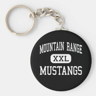 Mountain Range - Mustangs - High - Westminster Keychain
