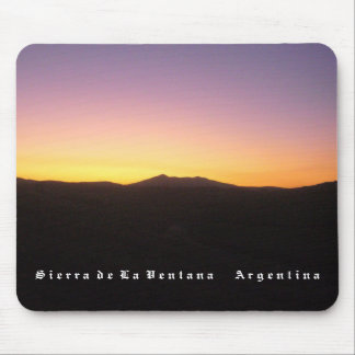 Mountain range of the Window (BASIC design) Mouse Pad