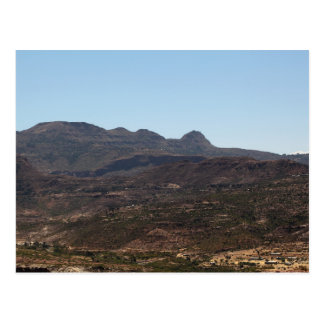 Mountain Range Postcard