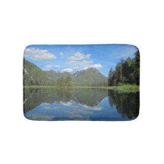 Mountain Reflection Bathmat