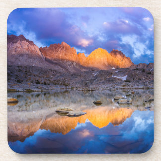 Mountain reflection, California Beverage Coasters