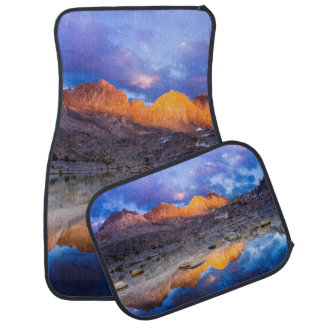 Mountain reflection, California Car Mat