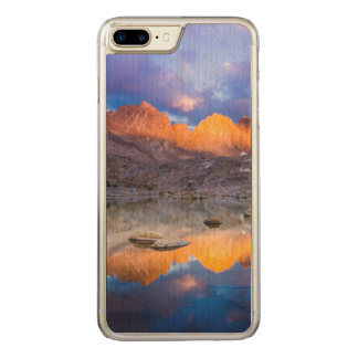 Mountain reflection, California Carved iPhone 8 Plus/7 Plus Case
