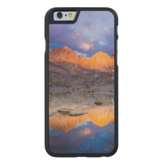 Mountain reflection, California Carved® Maple iPhone 6 Slim Case