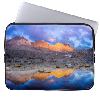 Mountain reflection, California Computer Sleeve