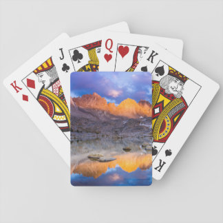 Mountain reflection, California Playing Cards