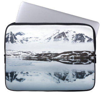Mountain reflections, Norway Laptop Sleeve