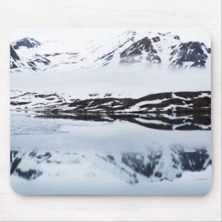 Mountain reflections, Norway Mouse Pad