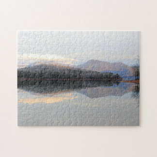 Mountain Reflections Puzzle