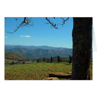 Mountain Resting Place Note Card